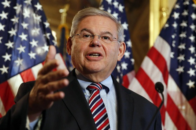 Le sénateur Robert Menendez.... (Photo Larry Downing, Reuters)