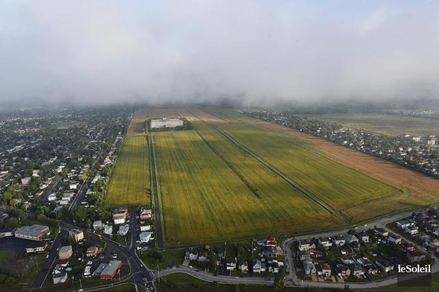 Le terrain d'une superficie de 22 millions de... (Photothèque Le Soleil, Patrice Laroche)