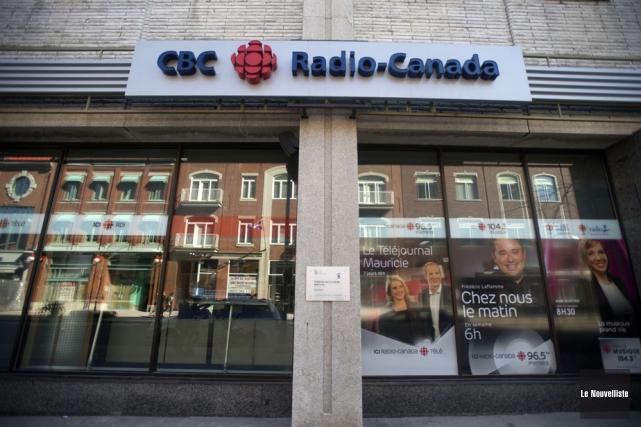 Le bulletin d'information de 18h de Radio-Canada Mauricie... (Photo: Stéphane Lessard, Le Nouvelliste)