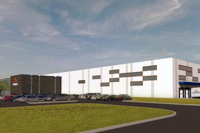 Le président de Canac, Jean Laberge, a annoncé la construction imminente d'un... (Photo fournie)