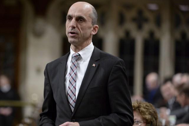 Le ministre de la Sécurité publique, Steven Blaney... (Photo Archives La Presse Canadienne)