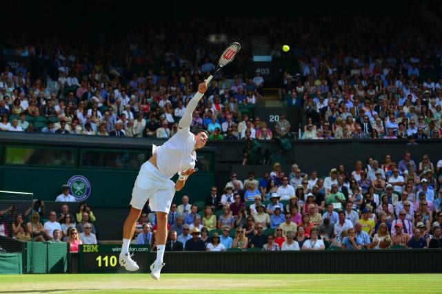Sur un événement ponctuel, c'est le tennis qui... (Photo CARL COURT, Archives AFP)