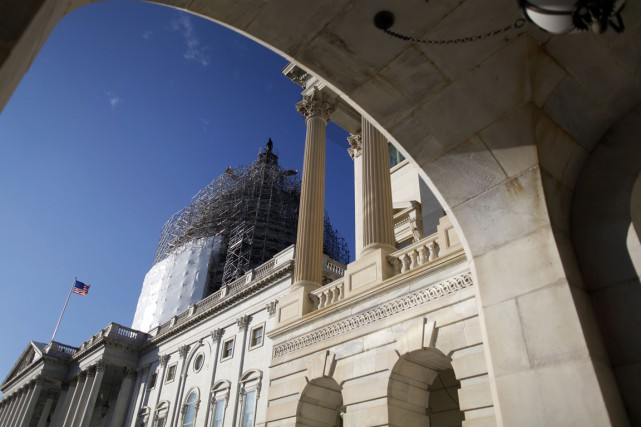 Le Congrès américain a évité in extremis jeudi une nouvelle paralysie des... (Photo Reuters)