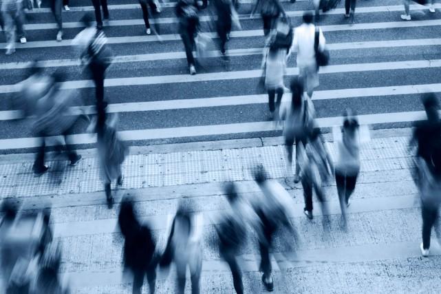 La personne atteinte d'agoraphobie craint les lieux publics,... (Shutterstock, hxdbzxy)
