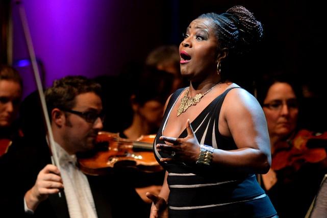 Marie-Josée Lord a interprété a capella Ain't Got... (Le Soleil, Erick Labbé)