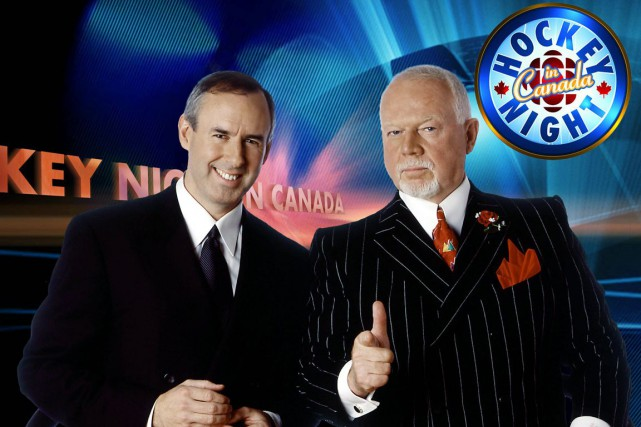 Ron MacLean et Don Cherry... (Photo: archives PC)