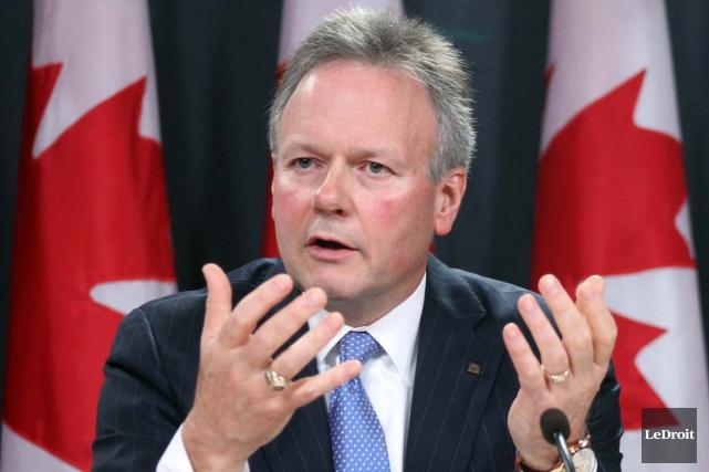 Le gouverneur de la Banque du Canada, Stephen... (Photo Étienne Ranger, archives Le Droit)