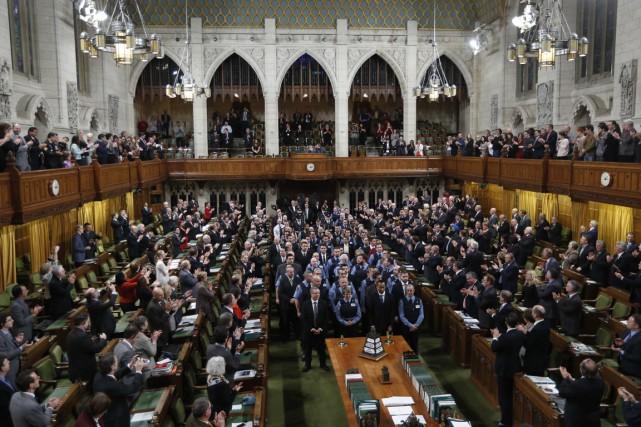 En cette fin de session parlementaire, les députés... (PHOTO CHRIS WATTIE, REUTERS)
