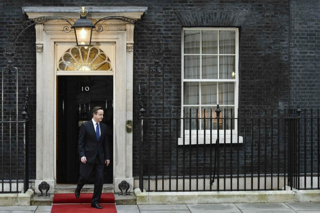 En 2010, le premier ministre David Cameron reconnaissait... (PHOTO TOBY MELVILLE, ARCHIVES REUTERS)