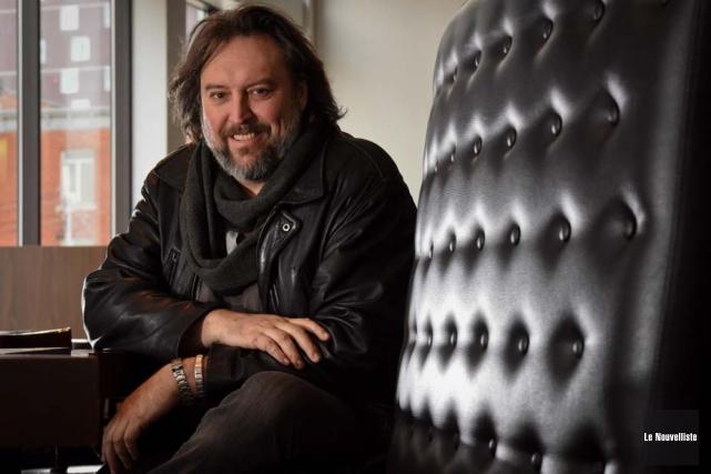 L'auteur Bryan Perro présenteraDragao, une aventure d'Amos Daragoncet... (Photo: François Gervais, Le Nouvelliste)