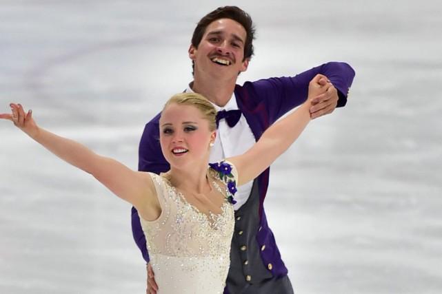 Julianne Séguin et Charlie Bilodeau... (Photo fournie par Patinage Canada)