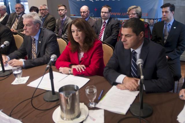 La présidente de l'Union des municipalités du Québec,... (La Presse Canadienne, Ryan Remiorz)