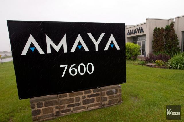 L'action d'Amaya a perdu mardi 51 cents, soit... (PHOTO LA PRESSE CANADIENNE)