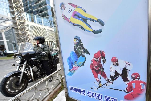 La ville dePyeongchang, en Corée du Sud, accueillera... (Photo Jung Yeon-Je, archives AFP)