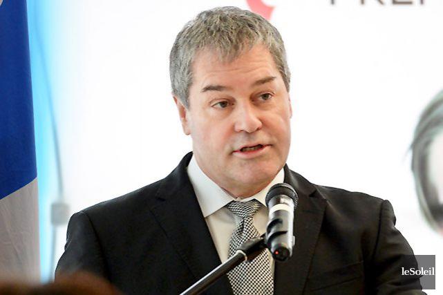 Le ministre de l'Éducation, Yves Bolduc... (Photothèque Le Soleil, Andréanne Lemire)