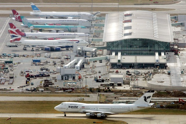 Le terminal 5 de l'aéroport de Heathrow, à... (PHOTO TOBY MELVILLE, ARCHIVES REUTERS)