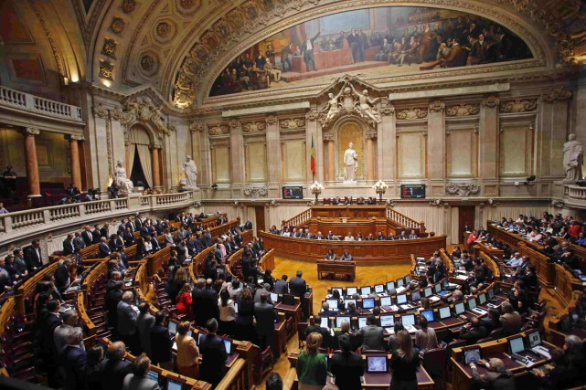Le vote du Parlement portugais s'inscrit dans un... (PHOTO HUGO CORREIA, ARCHIVES REUTERS)
