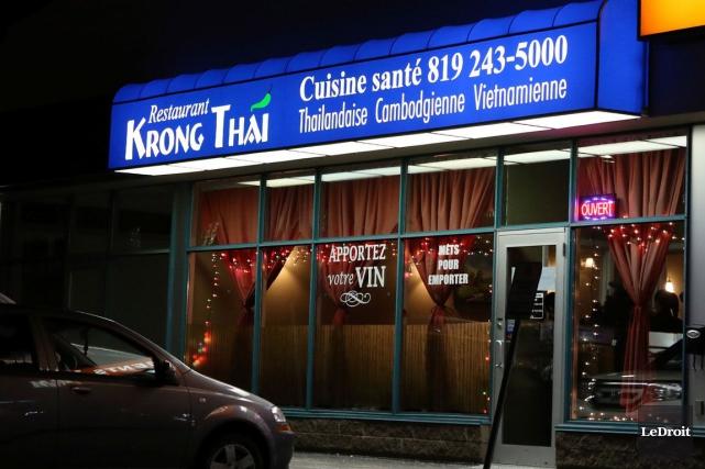 Le restaurant Krong Thai.... (Patrick Woodbury, LeDroit)
