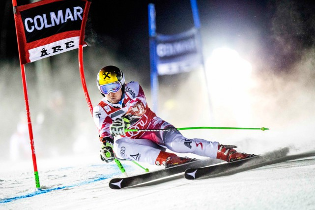 Marcel Hirscher... (Photo Marcus Ericsson, AFP)
