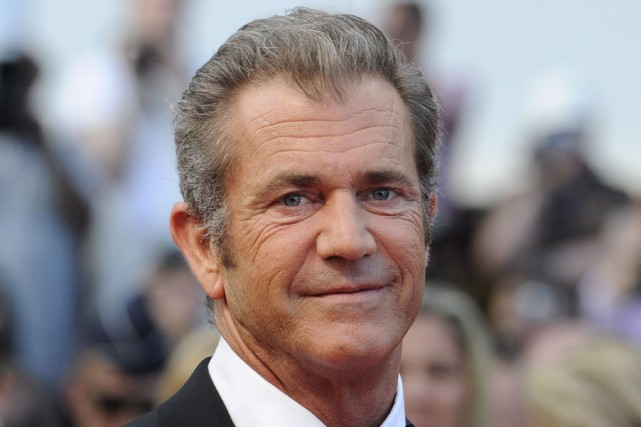 Mel Gibson... (Photo archives AFP)
