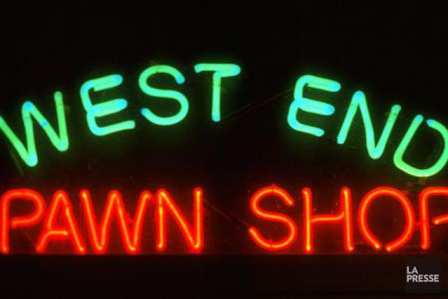Le Service de police d'Ottawa a visité plusieurs commerces de prêt sur gages de... (Archives, La Presse)