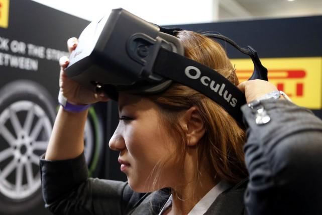 Oculus, rachetée par Facebook cette année pour 2... (Photo Lucy Nicholson, Archives REUTERS)