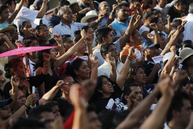 C'est dans l'État du Guerrero que le 26... (Photo Reuters)