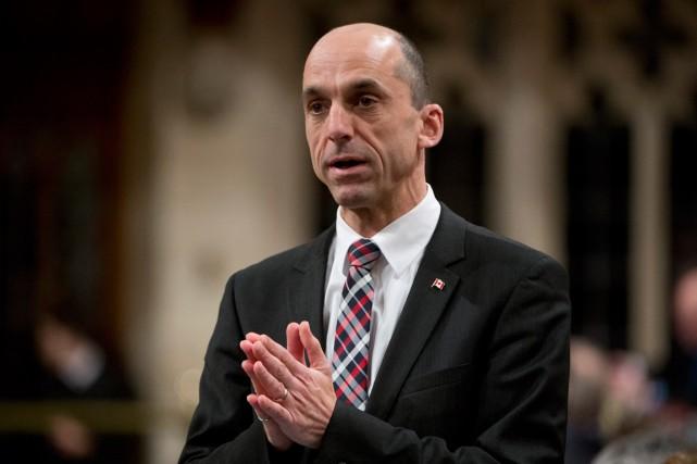 Le député fédéral de Lévis-Bellechasse, Steven Blaney, a... (La Presse Canadienne, Adrian Wyld)