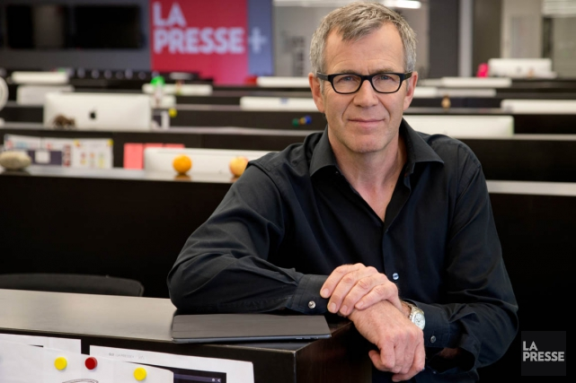 Guy Crevier, président et éditeur de La Presse... (PHOTO DAVID BOILY, LA PRESSE)