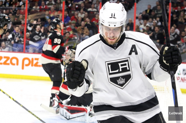 Anze Kopitar... (PHOTO PATRICK WOODBURY, LEDROIT)