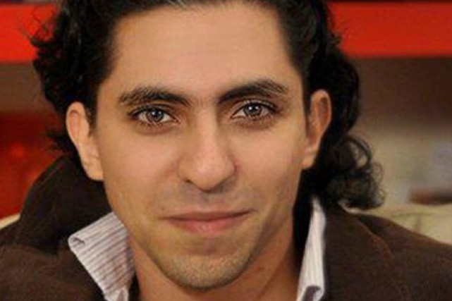Raef Badawi a été condamné à1000 coups de... (IMAGE TIRÉE DE TWITTER)