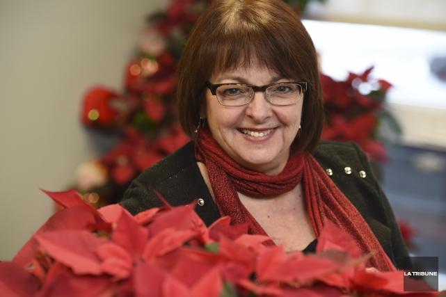 La directrice générale de la Maison Aube-Lumière, Marie... (IMACOM, Julien Chamberland)