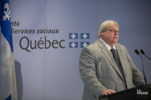 Le ministre de la Santé, Gaétan Barrette.... (Photo Olivier Pontbriand, Archives La Presse)