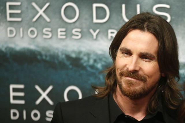 Christian Bale... (Photo Juan Medina, Reuters)