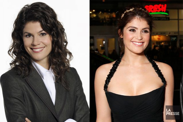 Catherine Mercier et Gemma Arterton... (Photos Radio-Canada et AP)