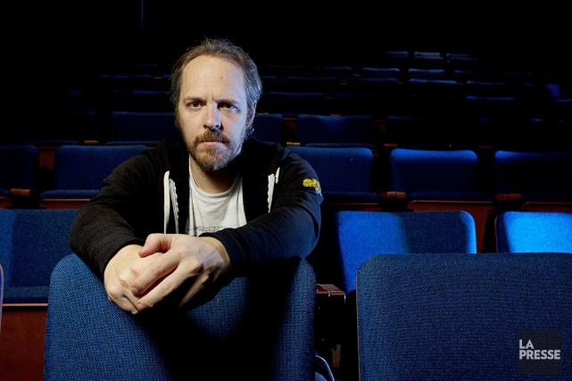 Le dramaturge Fabien Cloutier... (PHOTO OLIVIER JEAN, LA PRESSE)