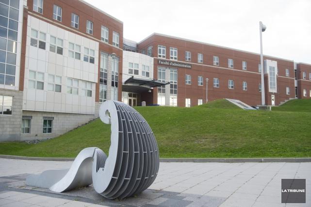 Lorsque j'étais à l'emploi de l'Université de Sherbrooke comme membre du... (Archives, La Tribune)
