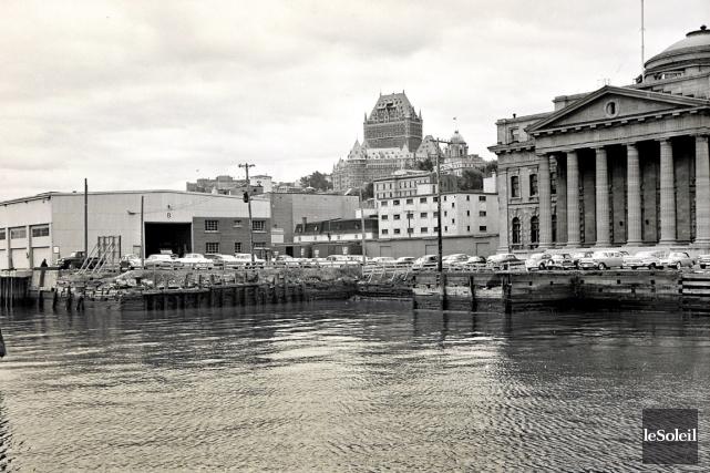 L'Agora du Vieux-Port en 1961...... (Archives Le Soleil)