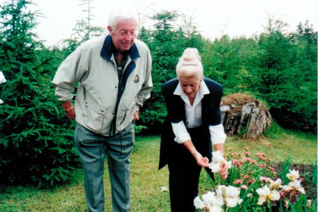 Jean Béliveau a visité l'un des jardins de...