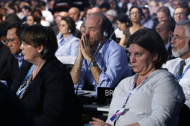 La Conférence de l'ONU sur le climat, qui... (Photo Juan Karita, AP)