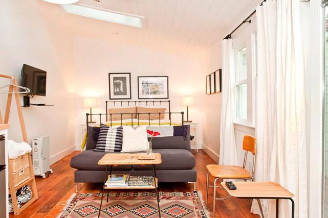 Une chambre de San Francisco présentement à louer... (Photo tirée du site airbnb.ca)