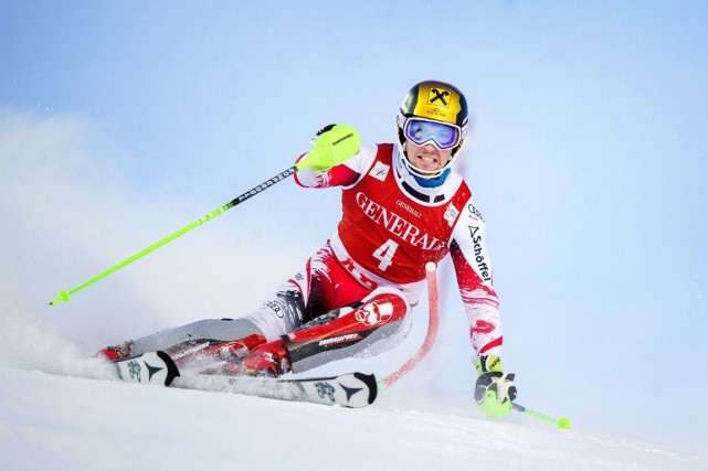Marcel Hirscher... (PHOTO REUTERS)
