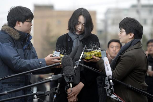 Cho Hyun-Ah, 40 ans, cadre dirigeante de la... (PHOTO REUTERS)