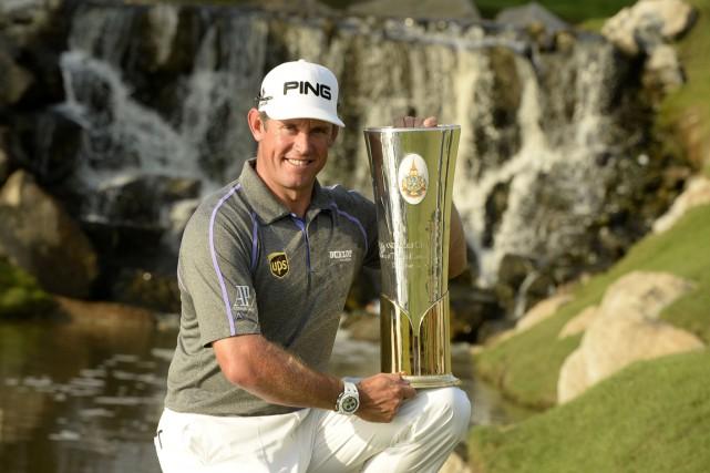 Lee Westwood a également remportéle Championnat de golf... (PHOTO AGENCE FRANCE-PRESSE)