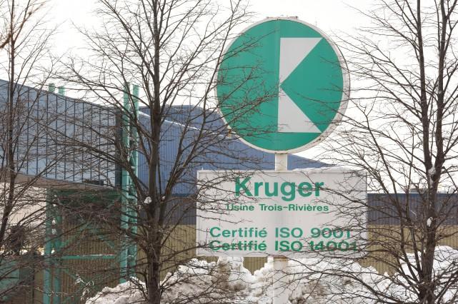 Un bâtiment situé dans la cour arrière de l'usine Kruger, sise sur le boulevard... (Photo: François Gervais)