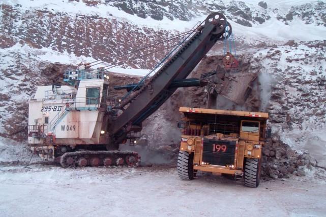 Le projet d'expansion au Mont-Wright devait faire passer... (Photo fournie par ArcelorMittal Mines Canada)