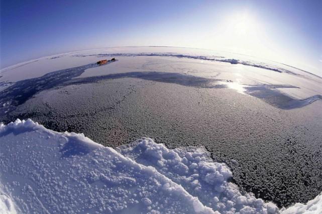 Des données scientifiques prouveraient que le Groenland est relié au pôle Nord... (Photo: Reuters)