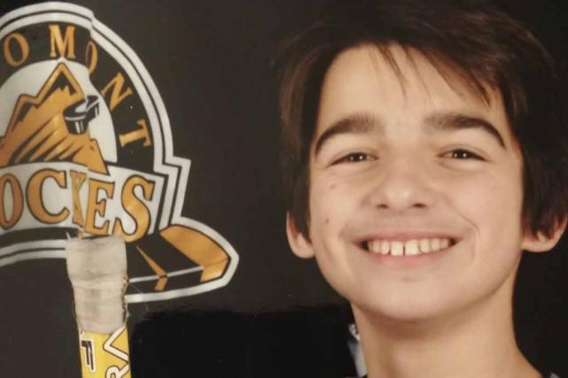 Le jeune Alexi Cordeiro-Beaupré, 13 ans, a subi... (photo fournie)