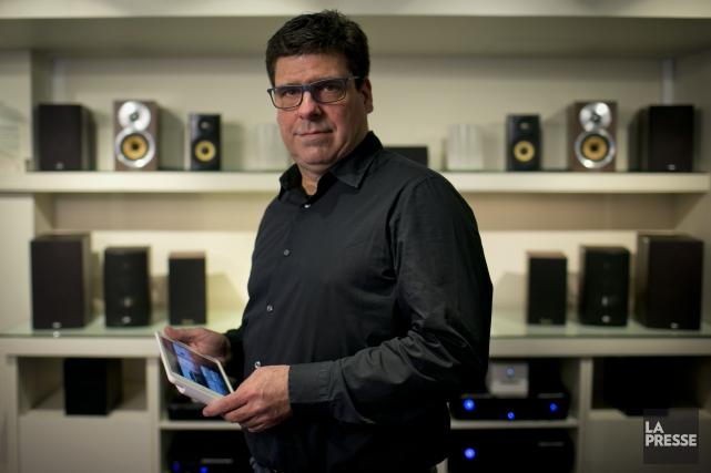 Environnement Électronique, l'entreprise de François Bérubé, permet à... (PHOTO DAVID BOILY, LA PRESSE)
