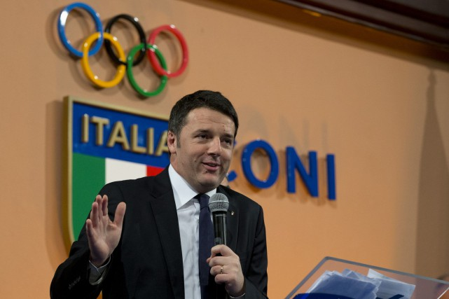 Matteo Renzi... (PHOTO ANDREW MEDICHINI, ASSOCIATED PRESS)